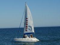 El catamaran Pirulet