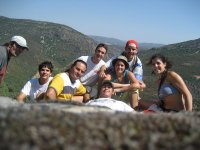Foto del grupo de excursionistas