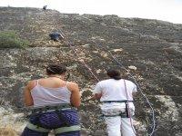 Escalndo en roca