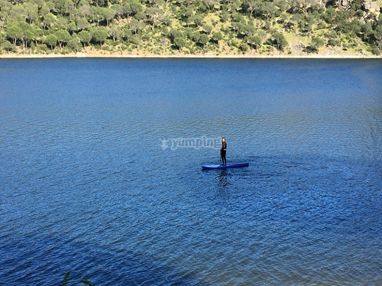 Paddle surf por Madrid
