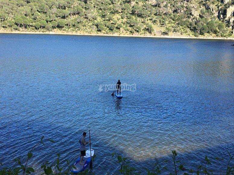 Con nosotros en el pantano