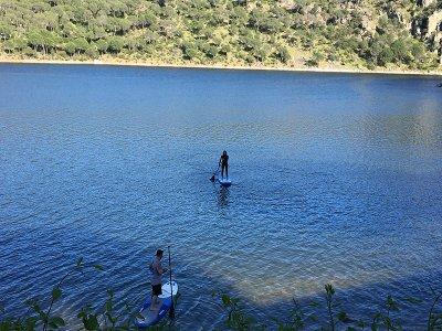 3 horas de Paddle Surf con Menú pantano San Juan