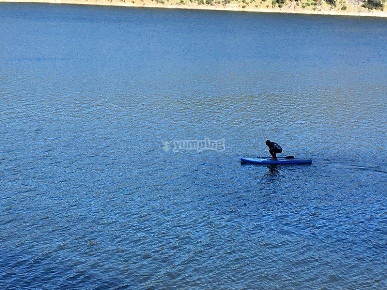 paddle surf en Pantano