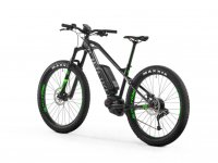 Bike with electric motor