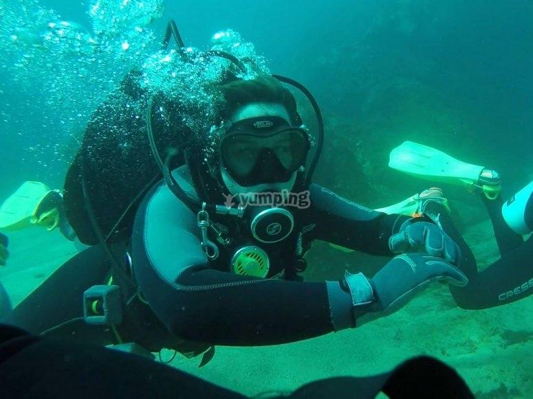 Ejercicios submarinos