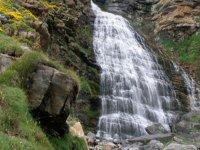 瀑布与水下降