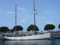 Paseo en barco en el Pais Vasco