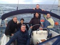 Paseo en barco en Guipuzcoa