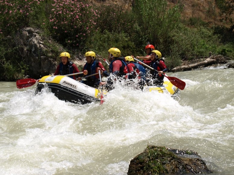 Rafting in Genil river