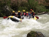 Rafting in Genil river