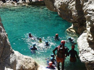 Barranquismo y rafting más hotel en Lleida