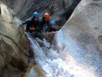Toboganes de roca naturales