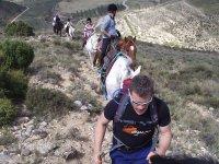 Caminos a caballo y a pie