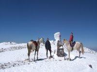 Rutas a caballo en la nieve