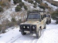 Una ruta en la nieve