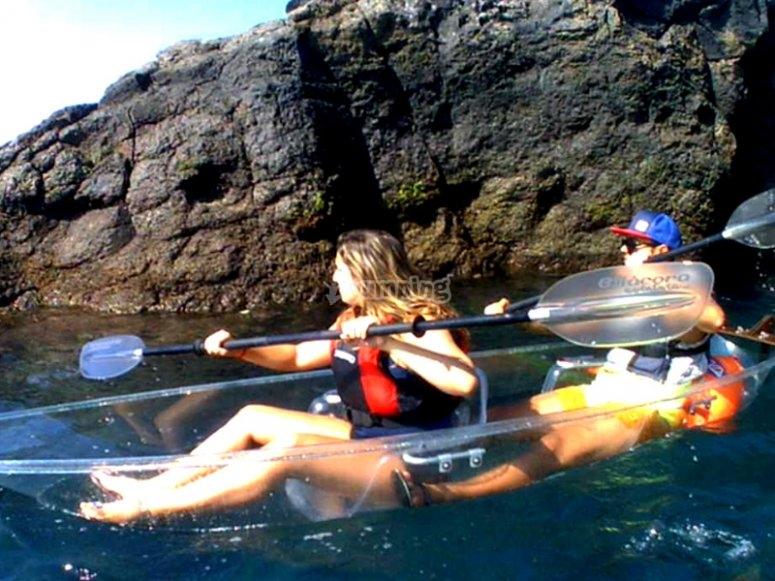 Kayak Transparente - ROMÁNTICO