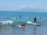 Sessione di surf