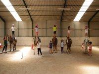 Pista di equitazione