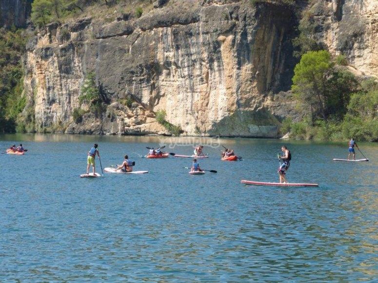 Sup y kayak en el rio