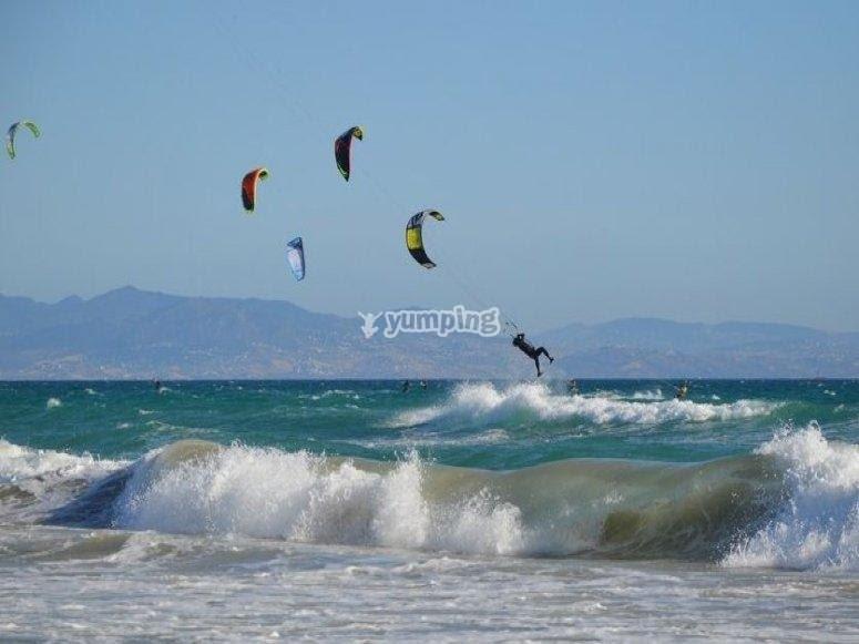 A saltar las olas