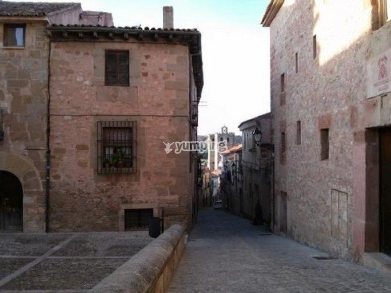 Recorriendo las calles medievales