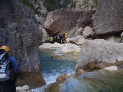 Barranquismo en la Sierra de Guara desde Madrid
