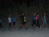 Night hiking in Alicante