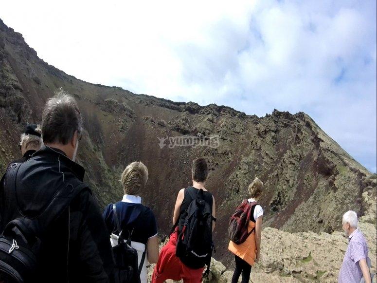 Cráter de la corona