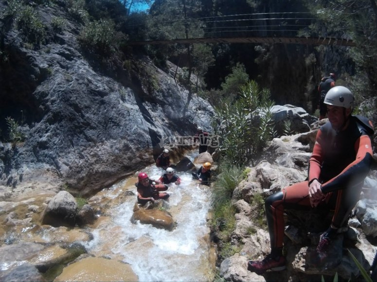 Natural tests in the canyon