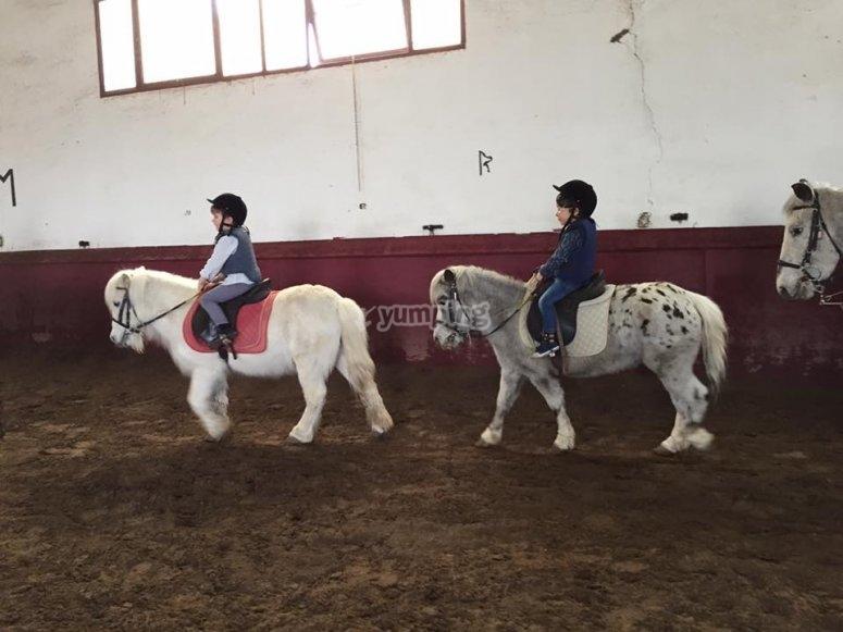 Clases de montar a caballo