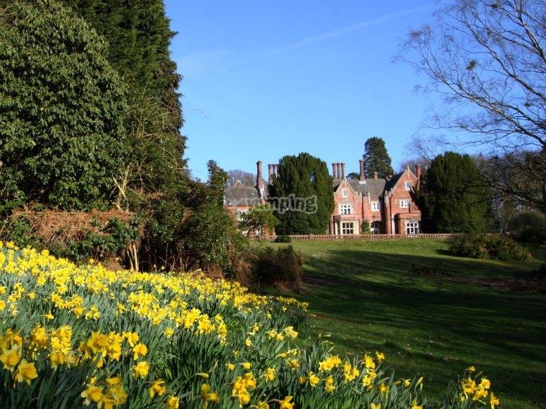 Holt Hall, nuestra casa en UK