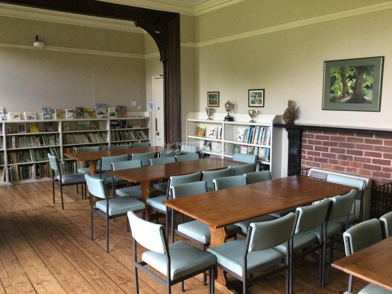 Zona de biblioteca