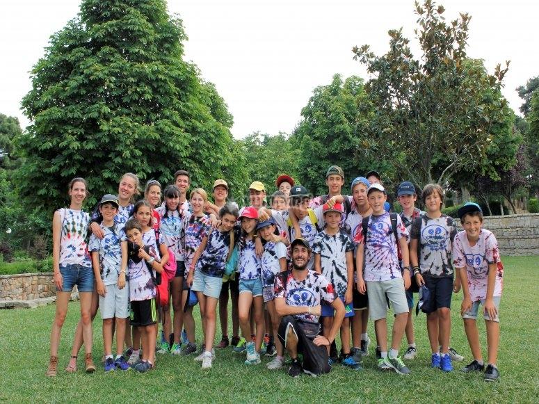 Alumnos de nuestro campamento
