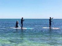 Paddle surf en la costa malagueña