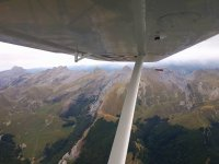 The Pyrenees from the aircraft