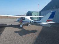 Ultralight aircraft at the Flight Centre