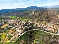 Aerial view of the Navarra's village