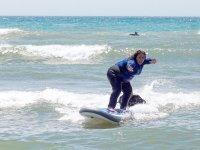 Aprendiendo surf en Benalmádena