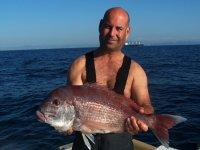 Captura de pesca en Cádiz