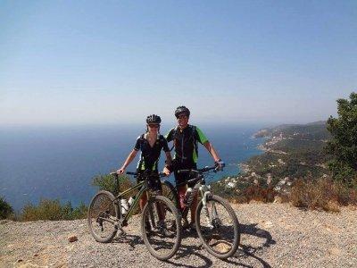 Excursión en bicicleta por la Costa Brava