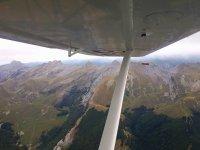 飞机上的比利牛斯山脉