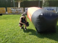 Inflatable field player