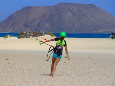 Curso avanzado de Kitesurf en Fuerteventura