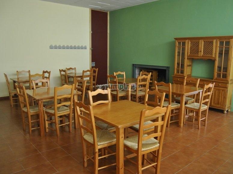 Mesas del comedor