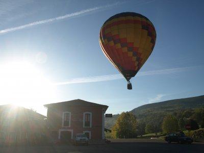 Giro in mongolfiera attraverso le Asturie per due