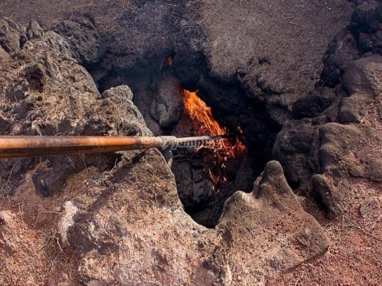 fuego volcan