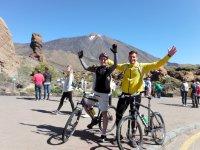 Ruta en bicicleta 70 km Parque Nacional del Teide