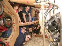 Paseo en globo en Madrid team building 9 personas