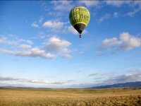在雷亚尔城(Ciudad Real)上乘气球