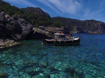 游览快艇,儿童Costa de Ibiza